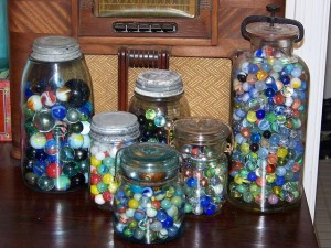 A Jar of 1000 Marbles