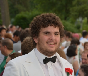 Aaron Smiling Graduation