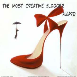 The Most Creative Blogger Award