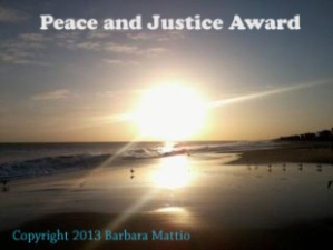 The Peace and Justice Award