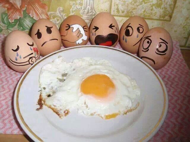 Don't Crack Up! It's No Yolk!!!