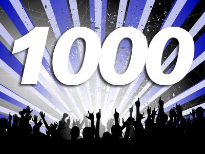 YAY! 1,000 Followers!