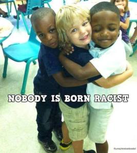 Nobody is a racist
