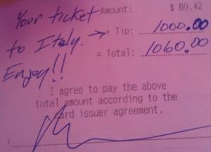 The Actual Check!!