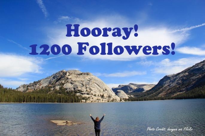 1200 Followers!!!