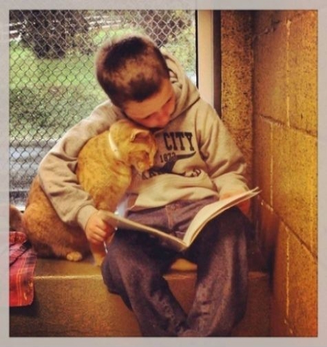 Reading With A Friend