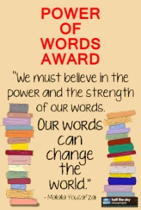 Power of Words Award
