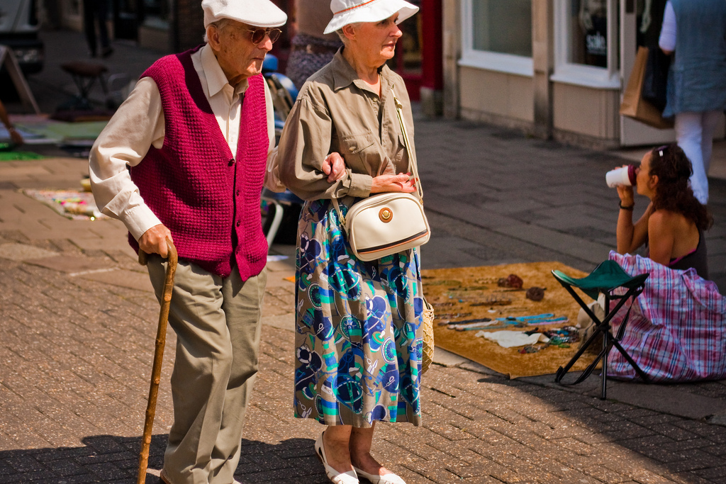Elderly in Brighton