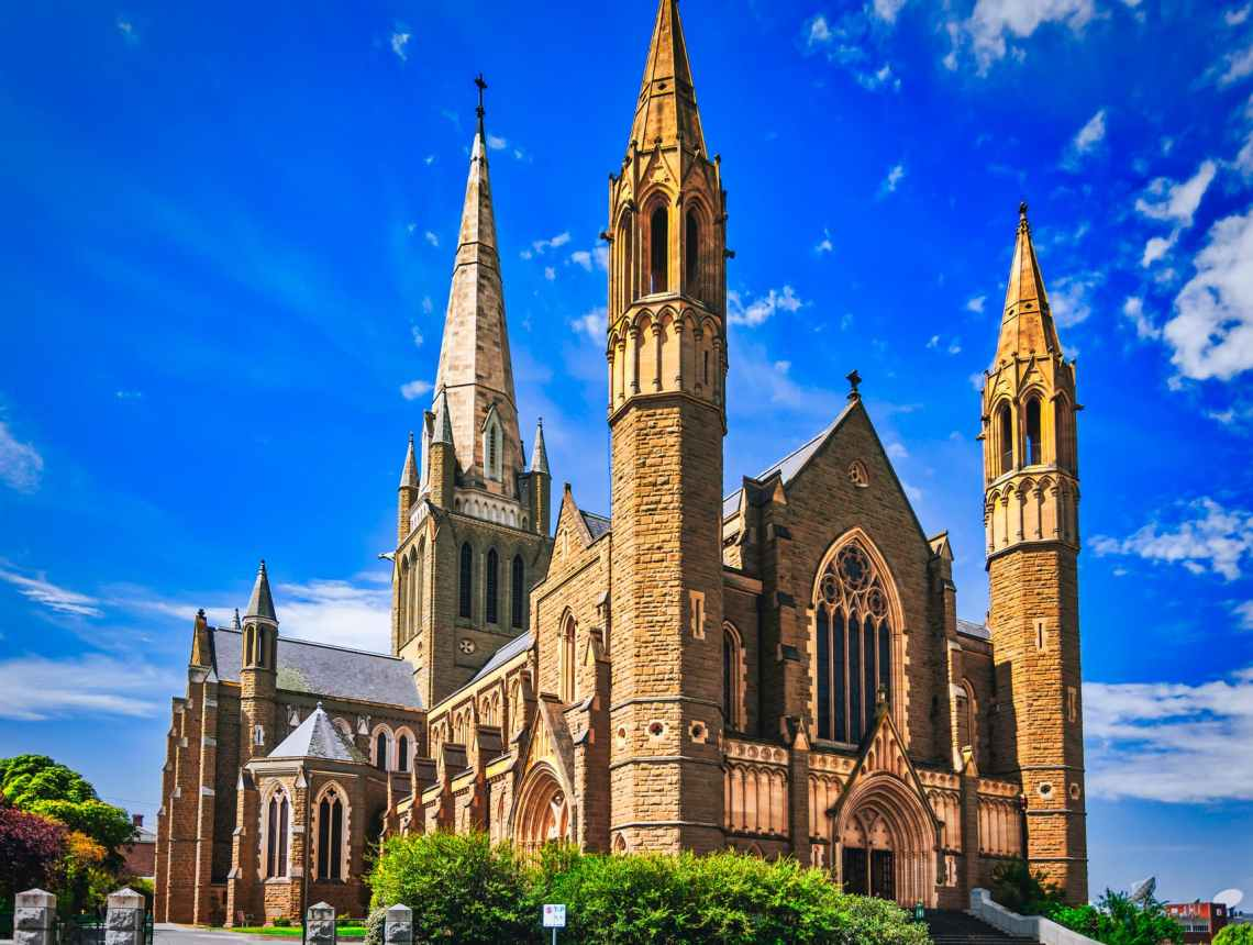 photo of sacred heart cathedral in bendigo australia