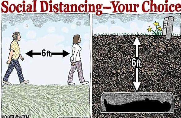 Social Distancing Choice